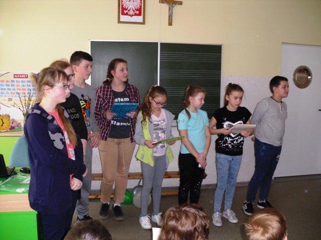 Światowy Dzień Poezji w Zespole Szkół w Benicach
