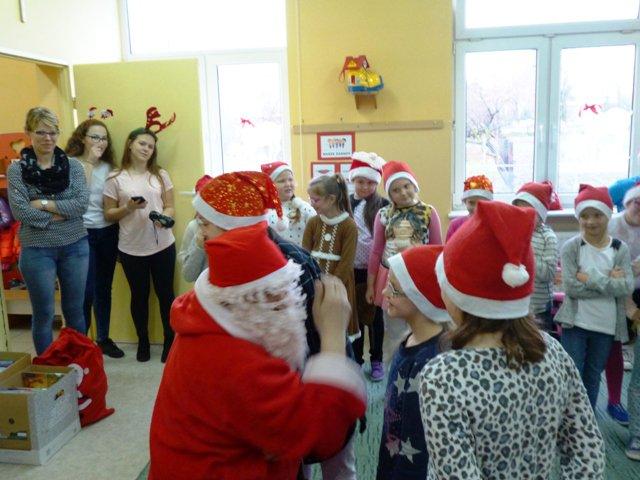 Święty Mikołaj z wizytą  …