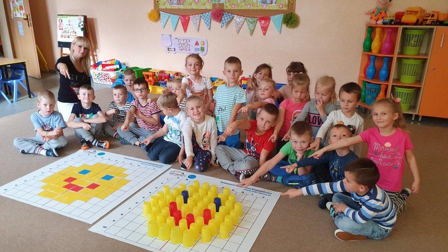 Kolorowe kod#owanie - kod#owanie w przedszkolu